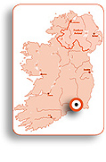 mapa de Waterford